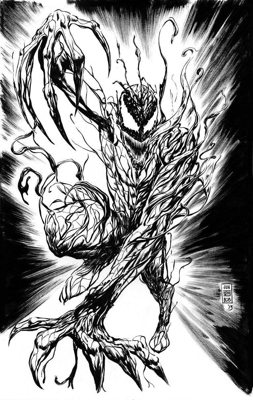 Marvel's Carnage Commission by Jun Bob Kim