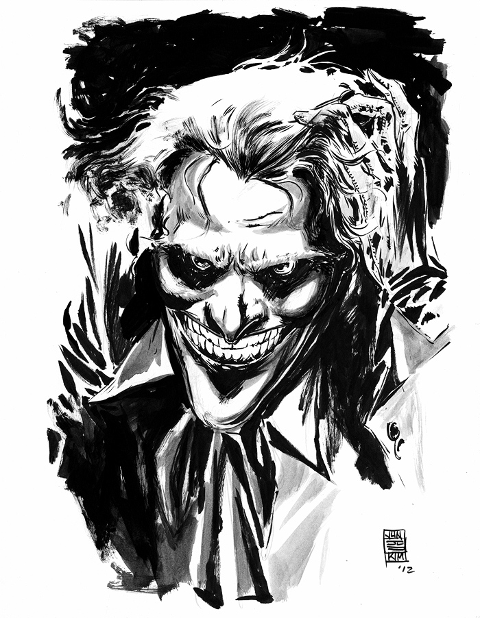 Joker - Last April Fools Month Sketch by Jun Bob Kim