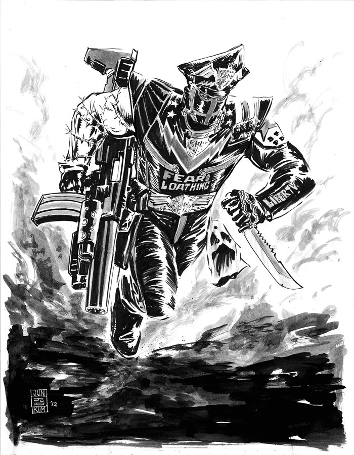 Marshal Law Sketch by Jun Bob Kim