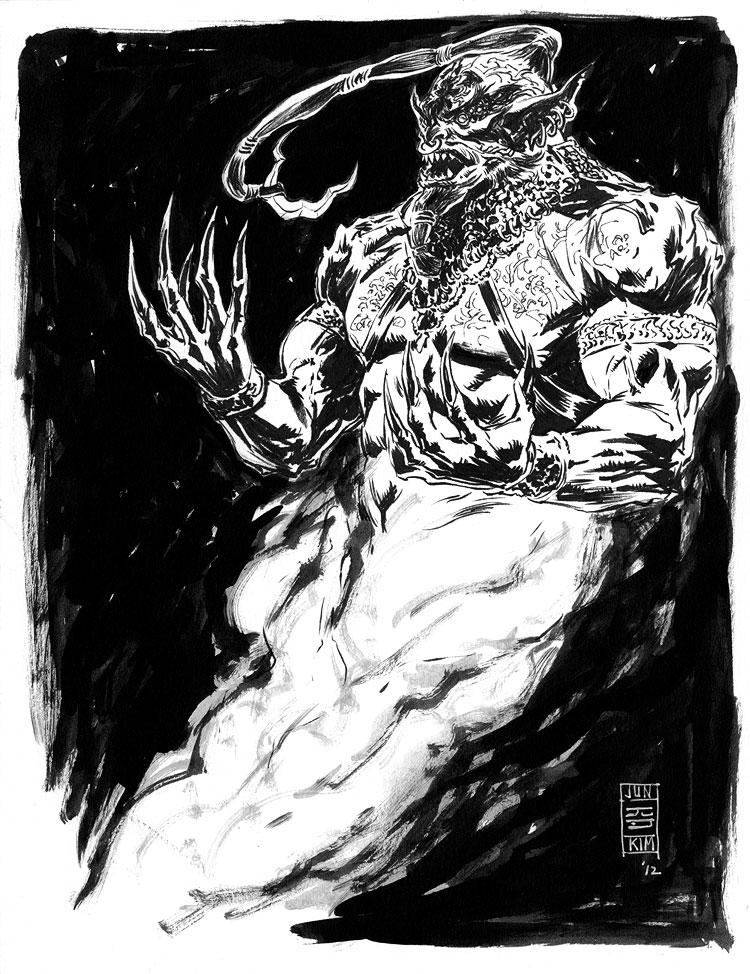 A DJINN Sketch by Jun Bob Kim