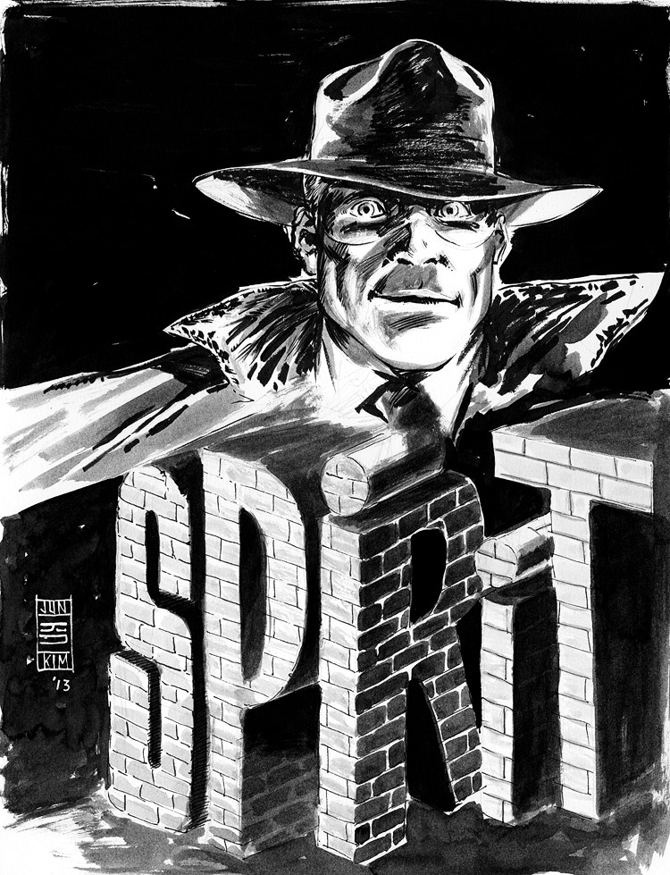 Wil Eisner's The Spirit - Pulp Sketch Challenge by Jun Bob Kim